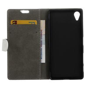 Walle peněženkové pouzdro na Sony Xperia X - bílé - 3