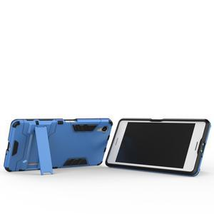 Odolný kryt na mobil Sony Xperia X - světlemodrý - 3