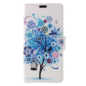 Emotive pouzdro na mobil Sony Xperia X Performance - modrý strom - 3