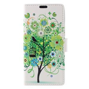 Emotive puzdro pre mobil Sony Xperia X Performance - zelený strom - 3
