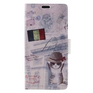 Emotive puzdro pre mobil Sony Xperia X Performance - mačiatko - 3