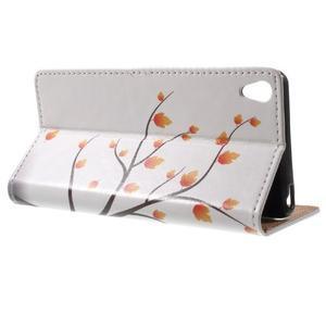 Emotive puzdro pre mobil Sony Xperia XA - jesenné strom - 3