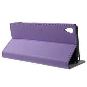 Cardy puzdro pre mobil Sony Xperia XA - fialové - 3