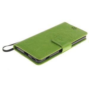 Dandely PU kožené puzdro pre mobil Sony Xperia XA - zelené - 3