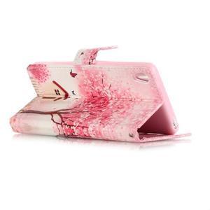 Emotive PU kožené knížkové puzdro pre Sony Xperia XA - domov - 3