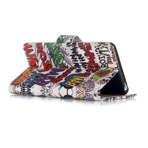 Emotive PU kožené knížkové puzdro pre Sony Xperia XA - boom - 3