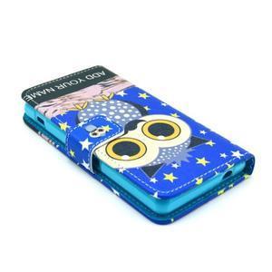 Puzdro na mobil Sony Xperia Z1 Compact - sova s vousem - 3