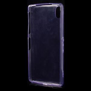 Ultratenký slim gelový obal na mobil Sony Xperia Z2 - fialový - 3