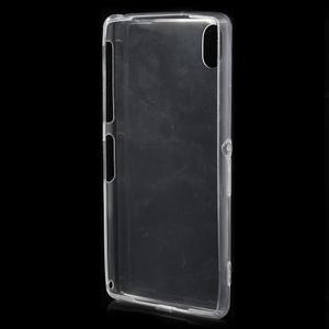 Ultratenký slim gélový obal pre mobil Sony Xperia Z2 - transparentné - 3