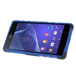 Outdoor odolný kryt pre mobil Sony Xperia Z2 - modrý - 3