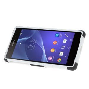Outdoor odolný kryt pre mobil Sony Xperia Z2 - biely - 3