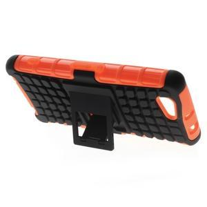 Odolný ochranný kryt na Sony Xperia Z3 Compact - oranžový - 3