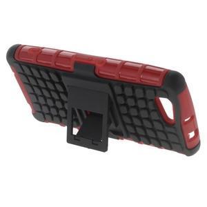 Odolný ochranný kryt pre Sony Xperia Z3 Compact - červený - 3