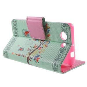 Pictu Peňaženkové puzdro pre Sony Xperia Z3 Compact - vtáčik v kleci - 3