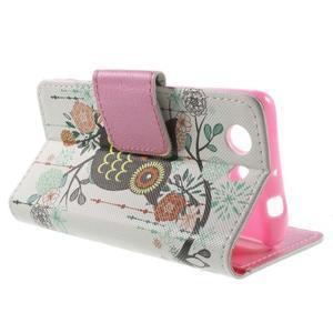 Pictu Peňaženkové puzdro pre Sony Xperia Z3 Compact - sovička - 3