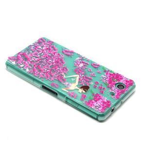 Gelový obal na mobil Sony Xperia Z3 Compact - motýlí dívka - 3