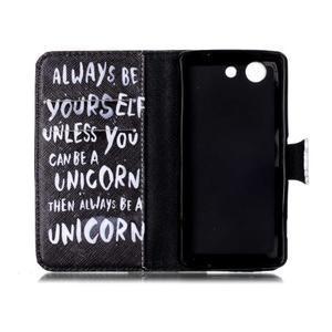 Emotive knížkové pouzdro na Sony Xperia Z3 Compact - unicorn - 3