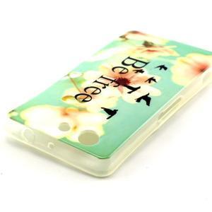 Softy gélový obal pre Sony Xperia Z3 Compact - be free - 3