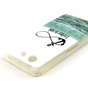 Softy gelový obal na Sony Xperia Z3 Compact - kotva - 3
