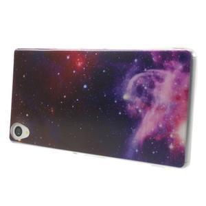 Ultratenký gélový obal pre mobil Sony Xperia Z3 - galaxie - 3