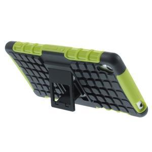 Outdoor ochranný kryt pre mobil Sony Xperia Z3 - zelený - 3