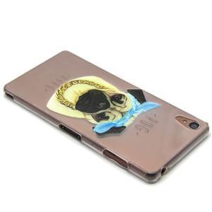 Gélový obal pre mobil Sony Xperia Z3 - mops - 3