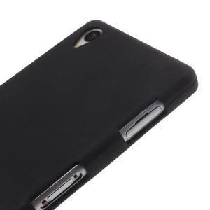 Silikónový obal pre mobil Sony Xperia Z3 - čierny - 3