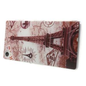 Ultratenký gélový obal pre mobil Sony Xperia Z3 - Eiffelova veža - 3