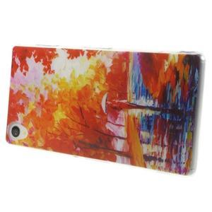 Ultratenký gélový obal pre mobil Sony Xperia Z3 - jeseň - 3