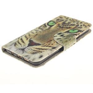 Patt peňaženkové puzdro pre Samsung Galaxy A3 (2016) - leopard - 3