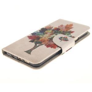 Patt peňaženkové puzdro pre Samsung Galaxy A3 (2016) - farebný strom - 3