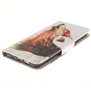 Patt peněženkové pouzdro na Samsung Galaxy A3 (2016) - vlk - 3