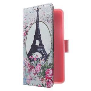 Fun peňaženkové puzdro pre Samsung Galaxy A3 (2016) - Eiffelova veža - 3