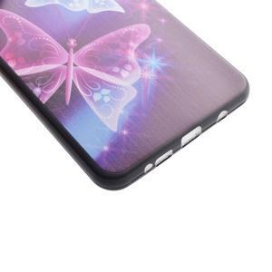 Terry gelový obal na Samsung Galaxy A3 (2016) - kouzelní motýlci - 3
