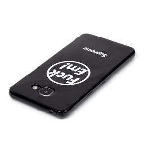Style gélový obal pre mobil Samsung Galaxy A3 (2016) - fuck em! - 3