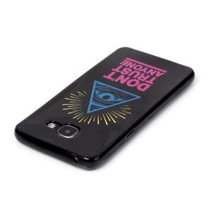 Style gelový obal na mobil Samsung Galaxy A3 (2016) - triangle - 3