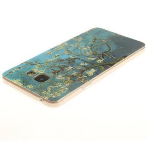 Silk gélový kryt pre mobil Samsung Galaxy A3 (2016) - rozkvetlý strom - 3