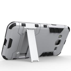 Outdoor odolný obal na Samsung Galaxy J3 - stříbrné - 3