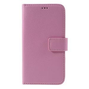 Peněženkové pouzdro na mobil Samsung Galaxy J3 (2016) - růžové - 3