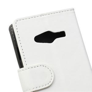 Wall peněženkové pouzdro na Samsung Galaxy Trend 2 Lite - bílé - 3
