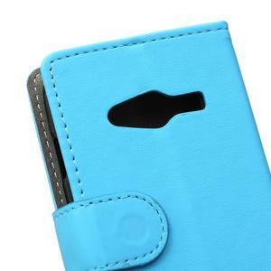 Wall peňaženkové puzdro pre Samsung Galaxy Trend 2 Lite - modré - 3