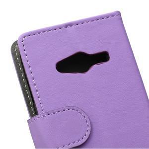 Wall peňaženkové puzdro pre Samsung Galaxy Trend 2 Lite - fialové - 3