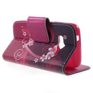Peňaženkové puzdro pre Samsung Galaxy Trend 2 Lite - srdca - 3