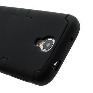 Extreme odolný gélový obal 2v1 pre Samsung Galaxy S4 - čierný - 3
