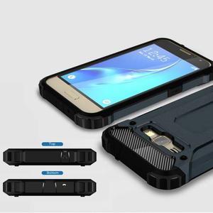 Armory odolný obal pre mobil Samsung Galaxy J1 (2016) - tmavomodrý - 3