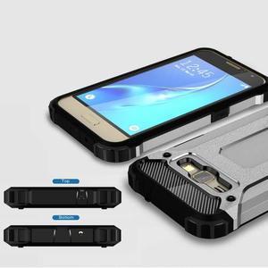 Armory odolný obal pre mobil Samsung Galaxy J1 (2016) - šedý - 3