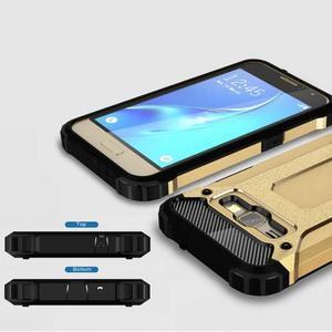 Armory odolný obal pre mobil Samsung Galaxy J1 (2016) - zlatý - 3