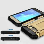 Armory odolný obal pre mobil Samsung Galaxy J1 (2016) - zlatý - 3/7