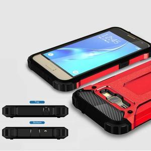 Armory odolný obal pre mobil Samsung Galaxy J1 (2016) - červený - 3