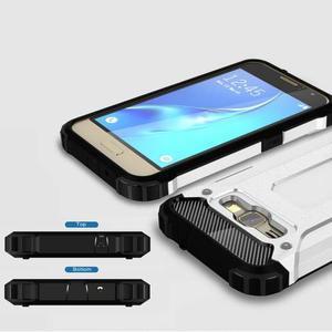 Armory odolný obal pre mobil Samsung Galaxy J1 (2016) - biely - 3